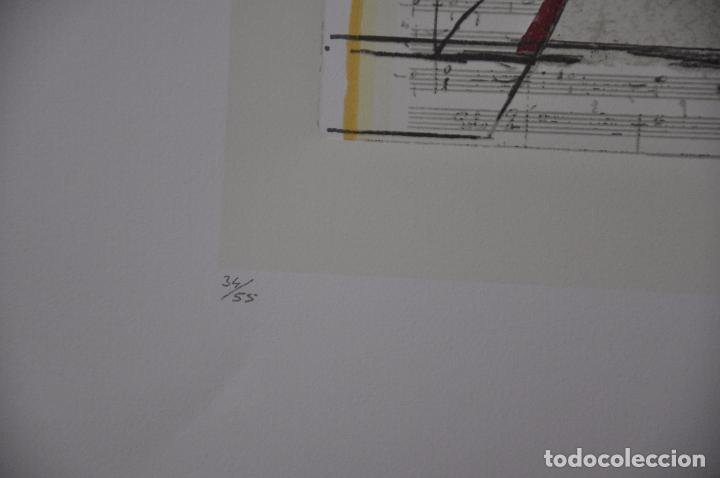 Arte: LUCIO MUÑOZ - SERIGRAFIA GOFRADO - FIRMADO Y NUMERADO - Foto 3 - 99424447