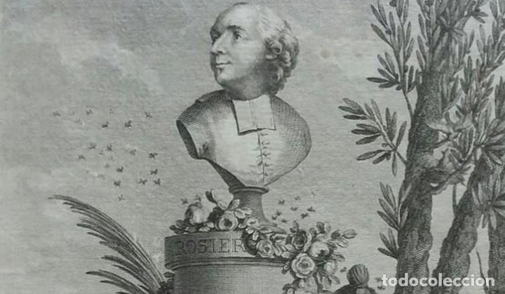 Arte: Aguafuerte. Retrato Jean-Baptiste Francois Rosier. Año 1795 - Foto 2 - 99555447