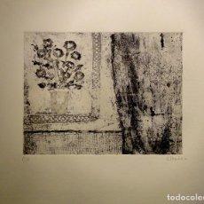 Arte: CONXA IBÁÑEZ - VENTANA CON FLORES. Lote 99646787