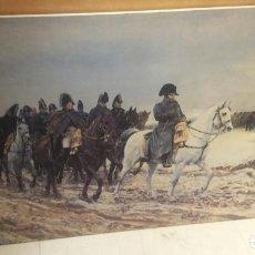 Arte: REPRODUCION SOBRE LIENZO DE CAMPAGNA DI FRANCIA MEISSONIER. Lote 99828687