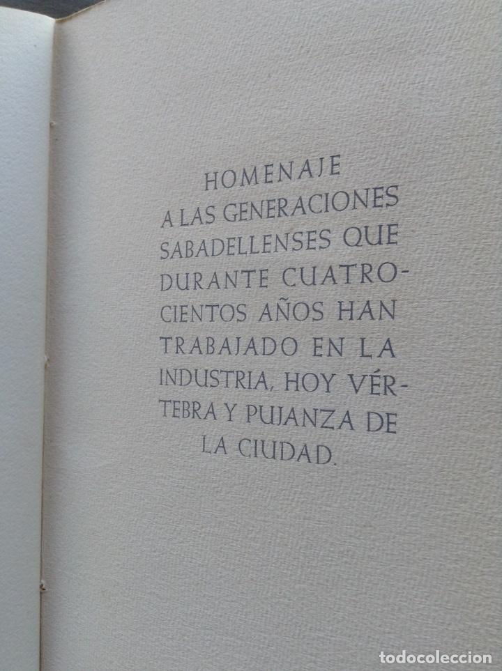 Arte: IV CENTENARIO DEL GREMIO DE FABRICANTES DE SABADELL CONTIENE 12 GRABADOS DE OFICIOS - Foto 5 - 99877959