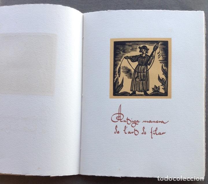 Arte: IV CENTENARIO DEL GREMIO DE FABRICANTES DE SABADELL CONTIENE 12 GRABADOS DE OFICIOS - Foto 8 - 99877959