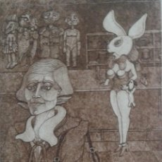 Arte: GRABADO DE PERE GARRIDO. Lote 100326431