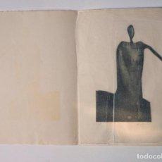 Arte: ALBERTO SOLSONA, 1974-1975, GRABADO. 26,5X35CM . Lote 100497375