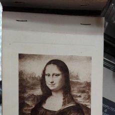 Arte: LIBRO 20 POSTALES GRABADOS MUSEE DU LOUVRE. Lote 100595268