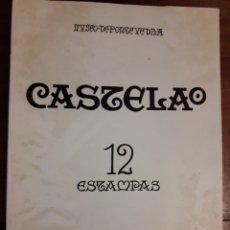 Arte: 12 ESTAMPAS DE CASTELAO - GALAXIA 1979 - MUSEO DE PONTEVEDRA. Lote 100622351