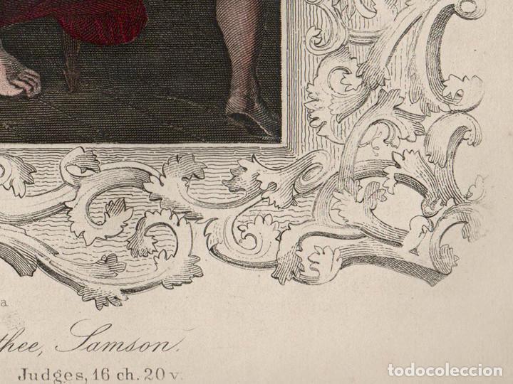 grabado al acero coloreado (iluminado) de 1860. - Comprar Grabados ...