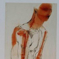 Arte: ERICH SMODICS, RETRATO EN GRABADO GICLÉE, 2016 / FIRMADO Y NUMERADO A LÁPIZ. Lote 101007371