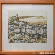 Arte: ¡¡ INVERSIÓN - GRABADO CON CERTIFICADO DE AUTENTICIDAD !!! - AGUSTIN REDONDELA - SEPULVEDA - SEGOVIA. Lote 101042887