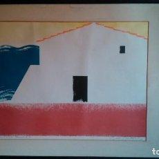 Arte: GRABADO DE CARLES FONTSERÉ FIRMADO POR EL ARTISTA POR SÓLO QUINIENTOS EUROS. Lote 101062767