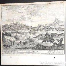 Arte: GRABADO ANTIGUO DE GRANADA 1714 ORIGINAL CERTIFICADO. GRABADOS ANTIGUOS GRANADA. Lote 26631412