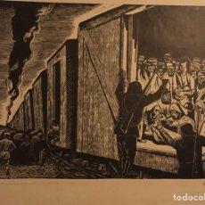 Arte: LEOPOLDO MENDEZ GRABADO. Lote 101287658