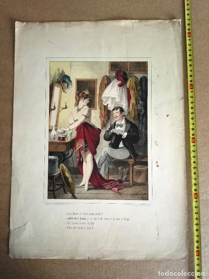 3 GRAVADOS SIGLO IXX (Arte - Grabados - Antiguos hasta el siglo XVIII)
