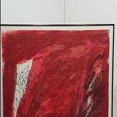 Arte: JOSE NIEBLA, GRABADO LITOGRAFICO, (P.A.), ESCOLA SUPERIOR RELACIONS PUBLIQUES. Lote 101307763