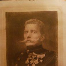 Arte: INTERESANTE GRABADO, RETRATO DE CABALLERO, FIRMADO Y FECHADO, 1912, NUMERADO, Nº1. EXCELENTE CALIDA. Lote 101897306