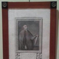 Arte: RETRATO DE AMBROSIO DE MORALES GRABADO POR FRANCISCO MUNTANAR (1743-1805) EN 1789. Lote 102366635