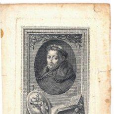 Arte: GRABADO RETRATO DE FRAY LUIS DE LEÓN, FELIX PRIETO 1798. Lote 102474139