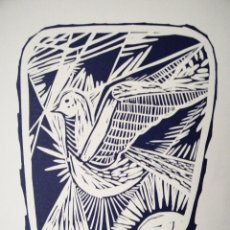 Arte: OBRA FIRMADA JORDI ROCA -- DEDICATORIA PARA LAURENTINO PONÇ / FECHADO EN ALEMANIA , JUNIO DEL 1987. Lote 102516763