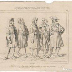 Arte: 3 GRABADOS DEL TRIUNFO DE MAXIMILIANO 1º (SEGÚN ALBRECHT DURER). Lote 102629203