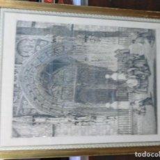Arte: GRABADO FIRMADO POR PEDRAZAASLOS. Lote 102823343