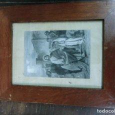 Arte: CUADRO GRABADO CON ESCENA DE JESUCRISTO. Lote 102836763