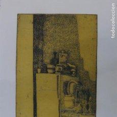 Arte: VIRXILIO FERNÁNDEZ CAÑEDO (OURENSE 1925 - 2011) GRABADO.. Lote 102927423