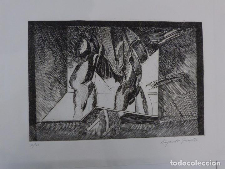 ARMANDO GUERRA (VIGO 1948) GRABADO. (Arte - Grabados - Contemporáneos siglo XX)
