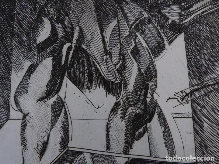 Arte: Armando Guerra (Vigo 1948) Grabado. - Foto 2 - 102933075