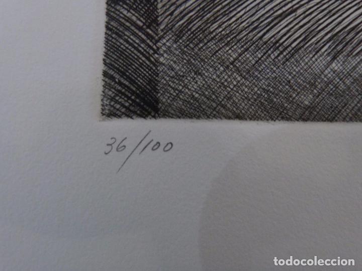 Arte: Armando Guerra (Vigo 1948) Grabado. - Foto 4 - 102933075