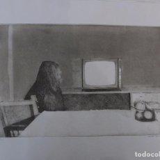 Arte: XESUS A. CAULONGA. (SANTIAGO 1934) GRABADO.. Lote 102966111