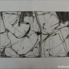 Arte: ACISCLO MANZANO (OURENSE 1940) GRABADO. Lote 102966627