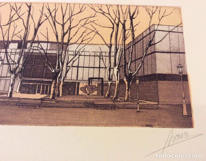 Arte: BILBAO METROPOLI -2001 ,CONJUNTO DE 4 AGUAFUERTES ,FIRMADOS Y NUMERADOS - Foto 5 - 103207631