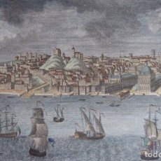 Arte: PORTUGAL. LISBOA, GRABADO POR C. BLACK (CA. 1800), A VIEW OF THE CITY OF LISBON…. Lote 103700735