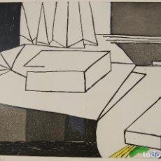 Arte: J. GARDY ARTIGAS. GRABADO AGUAFUERTE DE 47,5X37,5 EN PAPEL 65X50.EJEMPLAR 39/75. FIRMADO A LÁPIZ.. Lote 103849815