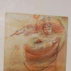Arte: MIGUEL CONDÉ (PITTSBURGH 1939). GRABADO AL AGUAFUERTE DE 30X21,5 PAPEL 50X33. FIRMADO A LÁPIZ. 24/50. Lote 103851235