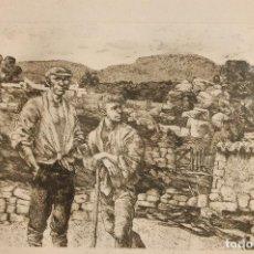 Arte: ANTONIO ZARCO. (MADRID 1930) GRABADO DE 25X32 PAPEL 57X59. FIRMADO A LÁPIZ. EJEMPLAR 116/150. Lote 103882299