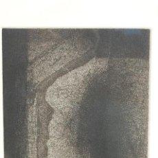 Arte: FRANCISCO PEINADO. MÁLAGA 1941. GRABADO DE 1995 DE 20X28 PAPEL 38X56 FIRMADO LÁPIZ. 98/100.. Lote 104177247