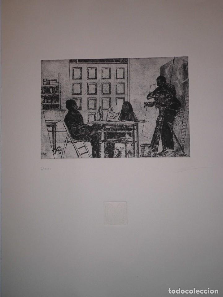 """Arte: Fernando Canelón - COMPOSICIÓN DE CUATRO GRABADOS """"El Ke Kiera.."""" 56x38 cm C/U - Foto 5 - 104182055"""