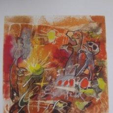 Arte: ROBERTO MATTA. EL PATTINARE DELLA MUSICA.. Lote 93074155