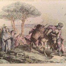 Arte: GRABADO TIEPOLO (RESTAURADO E ILUMINADO POR ANGEL OLIVERAS). Lote 104604311