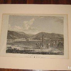 Arte: LLANURA DE RONCESVALLES, NAVARRA, A PRINCIPIOS DEL SIGLO XIX. LABORDE.. Lote 105119391