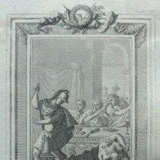 Arte: TOMÁS ROCAFORT, AGUAFUERTE ASESINATO DE QUINTO SERTORIO. 1830. Lote 105196843