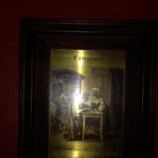 Arte: GRABADO EN PLANCHA DE COBRE ENMARCADO. Lote 105601283