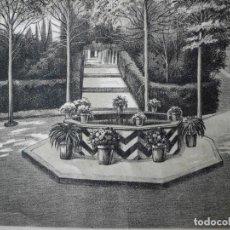 Arte: ANTIGUO GRABADO DE J. CAMINS. Lote 105814379