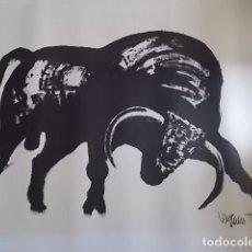 Arte: EXCELENTE GRABADO DEL FAMOSO PINTOR JOAQUIN VAQUERO TURCIOS /MEDIDAS 80X60. Lote 179751740