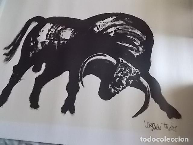 Arte: EXCELENTE GRABADO DEL FAMOSO PINTOR JOAQUIN VAQUERO TURCIOS /MEDIDAS 80X60 - Foto 5 - 179751740