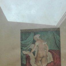 Arte: GRABADO EN COLOR DE LE COCHEUR DE JACQUES VANLOO. Lote 106062143