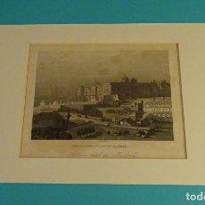 Arte: GRABADO PALACIO REAL EN MADRID. KONIGLICHER PALAST ZU MADRID. C.F. & H.W. DI. FORMATO 13.5 X 10 CM. Lote 106567267