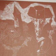 Arte: JUAN ANTONIO ALDA (MADRID 1943) . CONJUNTO DE 6 GRABADOS AÑO 1974. 29X23 EN 46X32. Lote 107259915