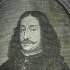 Arte: GRABADO DE GASPAR DE TEVES, CONDE DE BENAZUZA, SEVILLA, ORIGINAL, VIENA, 1670, MEYSSENS, HACQUÉ. Lote 107304143